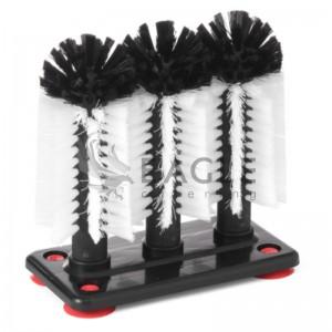 Bar glass brushes