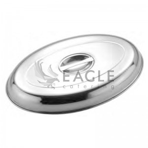 Oval tray cover