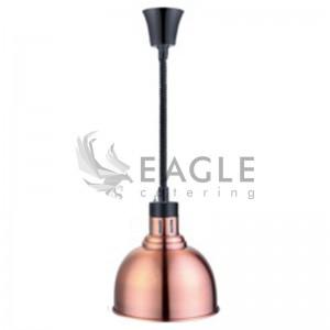 Copper Hanging Heat Lamp