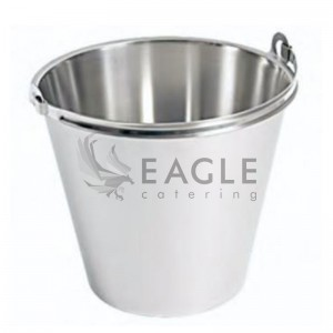 Stainless Steel Bucket 8L without Lid