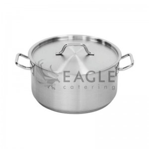 Stock Pot with Lid, Low