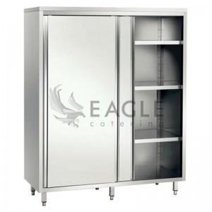 Cupboard with intermediate  shelves