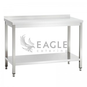 Work Table 600 series with Splashback