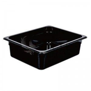 PC Gastronorm Container in black
