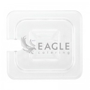 PP Food Pan Lid with Notched