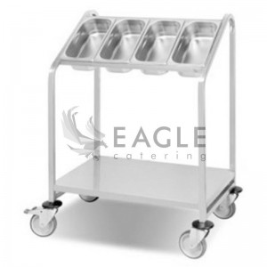 Cutlery Trolley For 4 GN Pans
