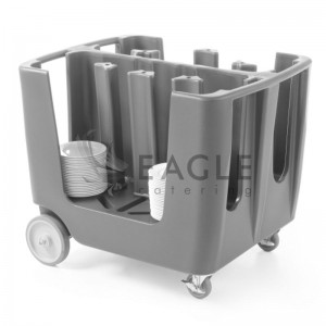 Plate Catering Trolley