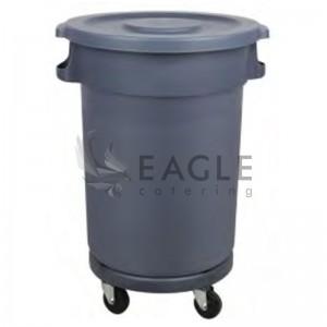 Big trash bins 80L