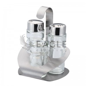 3-Element Spice Set for Salt Pepper and Toothpick